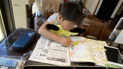 4年生の宿題事情